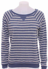 Marks and Spencer Women's Cotton Striped Long Sleeve Jumpers & Cardigans