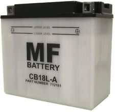 Battery (Conventional) For 1987 Moto Morini Excaliber 501 NO ACID