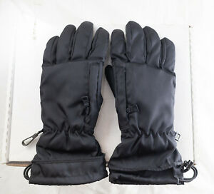 Prada Nylon and Leather Ski Gloves