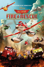 Disney Planes Fire and Rescue Movie Poster 24x36