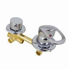 Armatur Einhebelmischer mit 4 fach Umschalter für Duschkabine Duschtempel Dusche