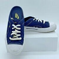 Nike Women's  Hermosa 143028-471 Size 9.5M Slip On Blue Denim Athletic Mule