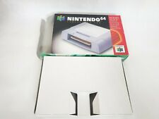 Nintendo 64 N64Memory Card Controller Pak Box & Tray Only