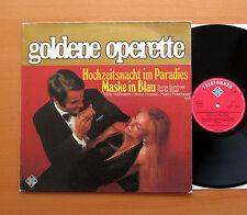 Goldene Operette Hochzeitsnacht im Paradies Maske in Blau Telefunken 6.21239 AF