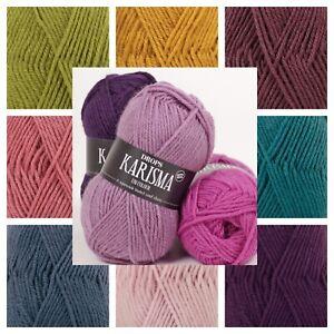 Drops Karisma DK 100% Superwash Wool Oekotex Certified Double-knit Yarn ! SALE !