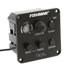General FISHMAN ISYS+ ACOUSTIC GUITAR PICKUP ONBOARD PREAMPS EQ