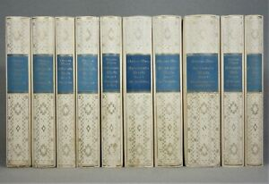 1925 - WERKAUSGABE - Thomas Mann / 10 Bände - WERKE Buddenbrooks Zauberberg RAR