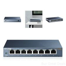 TP-Link 8-Port Gigabit Ethernet Desktop Network Switch