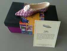 """Just The Right Shoe - """"Truffles""""- With Coa & Box - Free Shipping"""