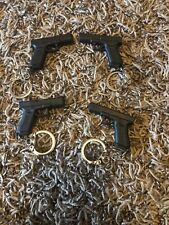 Lot 4 GLOCK PROMOTION 17 KEYCHAIN GUN PISTOL PLASTIC GEN 5 2020 Shot Show Vegas