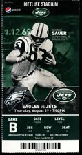 Football Ticket New York Jets 2013 8/29 Philadelphia Eagles