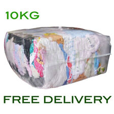 10Kg Bag Of Rags Towelling material coloured towel - excellent value for money