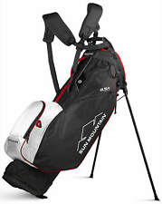 Sun Mountain 2.5+ 14-Way Golf Stand Bag Black/White/Red 2020 New