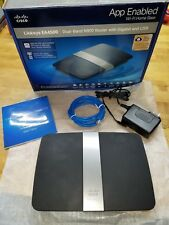 Cisco Linksys EA4500 Dual Band N900 Router with N Gigabit