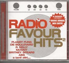 RADIO FAVOUR HITS 2 PLANET FUNK BRITNEY SPEARS MOONY MI8LKY IN-GRID CD 2002