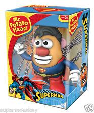 PLAYSKOOL MR.POTATO HEAD SUPER MAN MARVEL DC COMICS SUPER HERO FIGURE