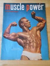 MUSCLE POWER bodybuilding magazine/FLOYD PAGE 11-49