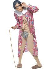 Gravity Granny Adult Unisex Smiffys Fancy Dress Costume