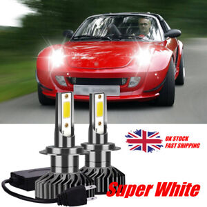 FITS SMART ROADSTER COUPE 2003-ON SET H3  XENON LIGHT BULBS