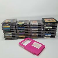 Lot of 38 Assorted Nintendo Entertainment System NES Video Games & Eliminator