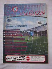 Orig.PRG   1.Bundesliga  1987/88   FC BAYERN MÜNCHEN - 1.FC NÜRNBERG  !!  SELTEN