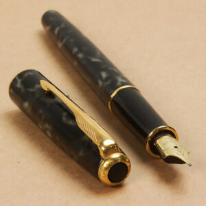 Vintage 1994 Parker Sonnet I Lacquer Moonbeam 18K F Nib Fountain Pen from France