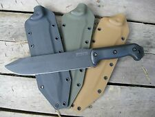 Valhalla Custom Kydex Sheath Ka-Bar Kabar Becker 9 BK9 COYOTE BRN SHEATH ONLY