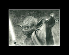 Yoda Star Wars drawing image picture poster art