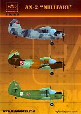 Hungarian Aero Decals 1/72 ANTONOV An-2 COLT Military Versions