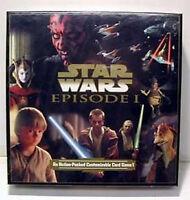 1999 Star Wars:Episode 1 Customizable Card Game Boxed Set w 4 Decks