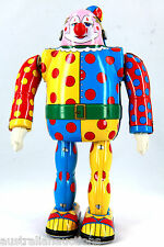 JAPANESE TIN TOY PEIRROT CLOWN NEW IN BOX COLLECTORS TOY  OSAKA TIN TOY INST.