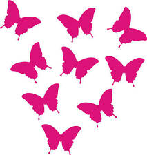 25 Small butterfly stickers - For walls or cars
