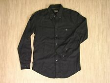 Lacoste Crocodile Button Down Long Sleeved Shirt Men's Size Medium Gray Cotton