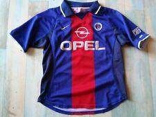 / Maillot FOOT NIKE PSG PARIS ST GERMAIN OPEL TAILLE/8/9 ans TBE