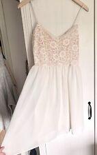 Asos White Lace Summer Dress 10