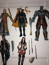 Marvel Legends Thor Lot Mcu Lady Sif Korg Loki Valkyrie