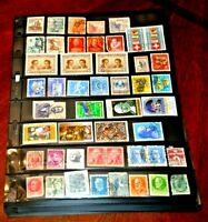 CatalinaStamps:  Worldwide Stamp Collection in 8 Vario Pages, 483 Stamps, #E20