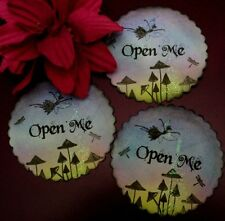 Aprire Me Notte fata Adesivi/Etichette/Sigilli BUSTA - 10