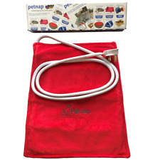 More details for pet heat pad, cat bed, dog bed, puppy, whelping box, petnap electric heated mat.
