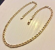 Lovely Fancy Link 9 Carat Gold Neck Chain 18 inches