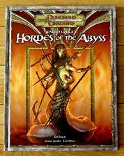 Dungeons & Dragons HORDES OF THE ABYSS Fiendish Codex I 2006 1st printing L34