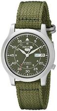 Seiko 5 Mens Automatic Watch Green Dial Analogue RRP£149 SNK805 SNK805K SNK805K2