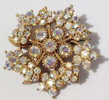 pin 1960 po ' di tempo cristalli diamante borealis solitario colore oro 3865