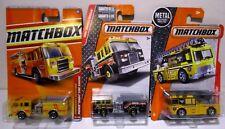 Matchbox Wildland Fire Ladder Truck Engine Lot Pierce Dash Flame Tamer