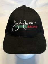 John Force Racing Black Baseball Hat Castrol (17-2)