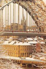Newcastle Upon Tyne The Guildhall and Tyne Bridge Pont