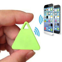 Green  Smart Mini GPS Locator Alarm Tracker Pet Child Wallet Key Finder