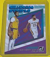2019-20 Panini Donruss Anthony Davis CHANGING STRIPES Los Angeles Lakers #3 🔥