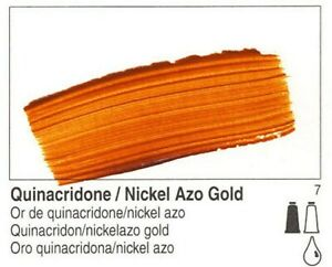 Golden, Fluid Acrylics, Artist Quality, Quinacridone Nickel Azo Gold, #2301, ...
