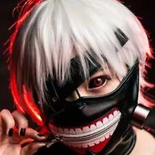 Anime Tokyo Ghoul Kaneki Ken Cosplay Face Mask Costume Maschera Tokyo Ghoul